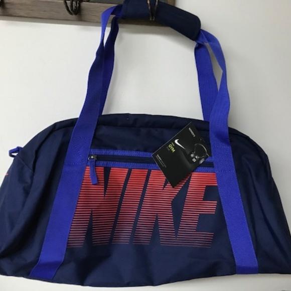 18fae37f0b41 NWT NIKE GYM CLUB Binary Blue Sm DUFFEL BAG BA5167